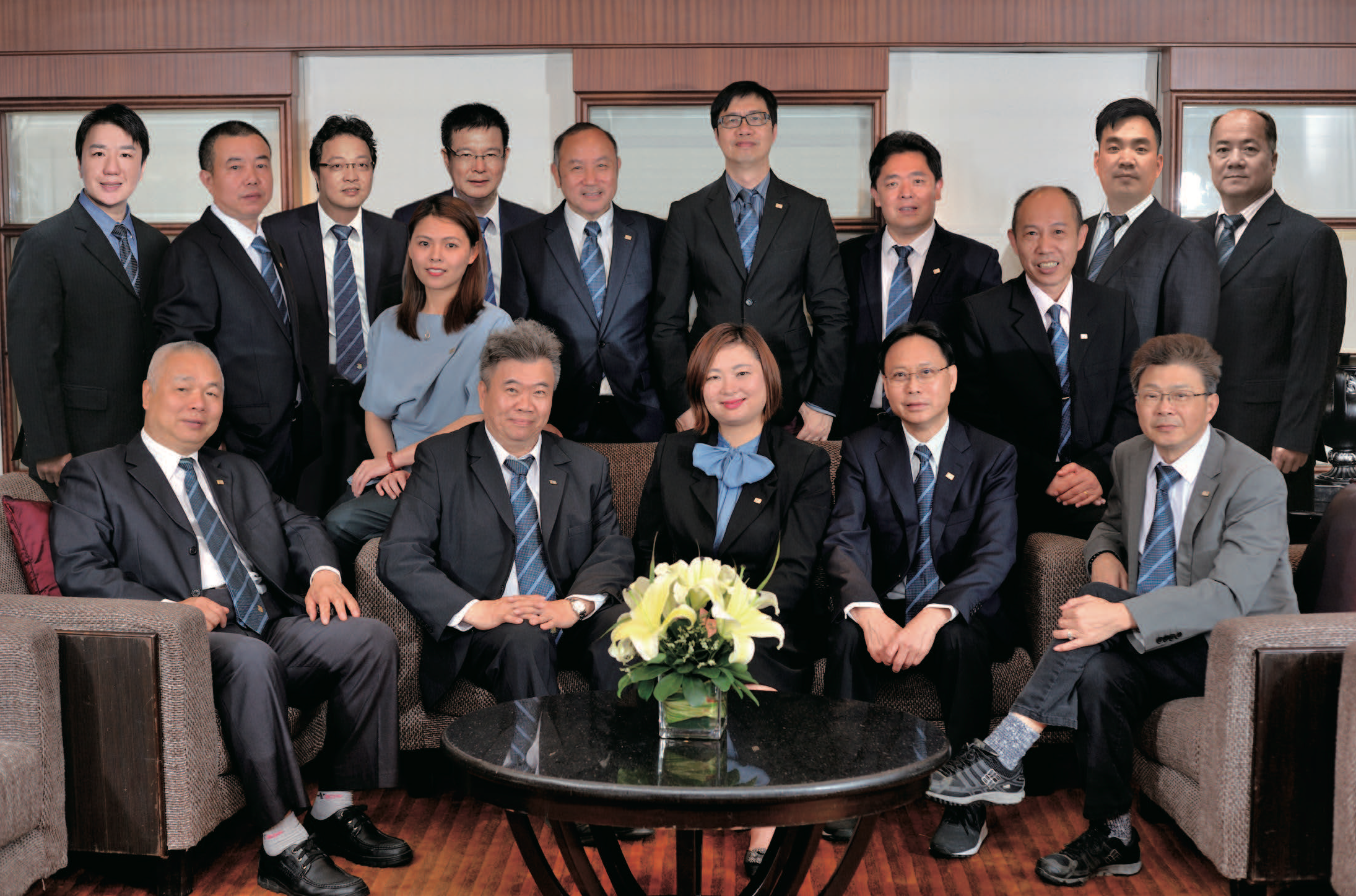 Group Photo of Executive Committee Members